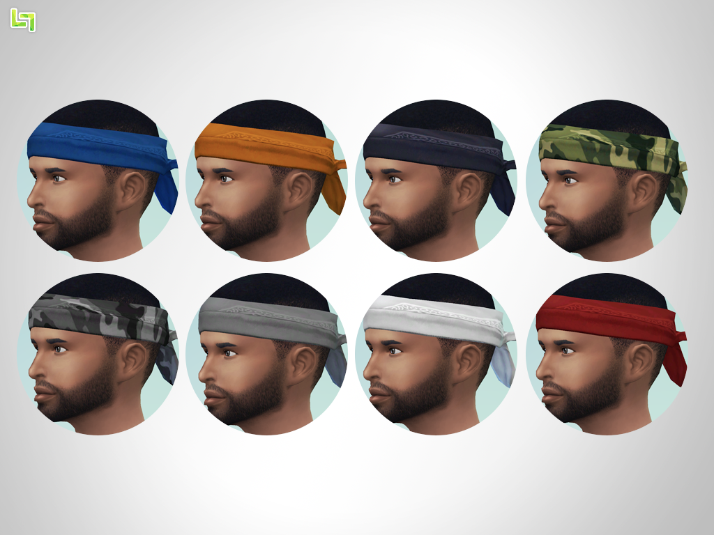 Edited Accessory Bandana for Males & Females by LumiaLover