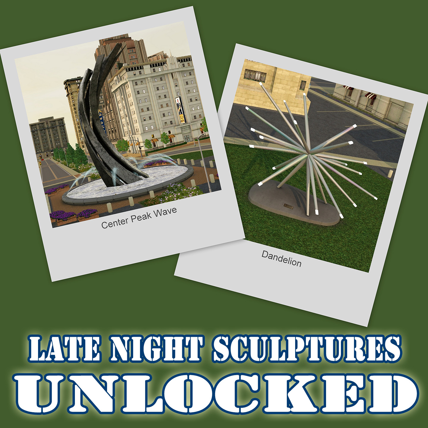 Late Night Sculptures Unlocked by k2m1too