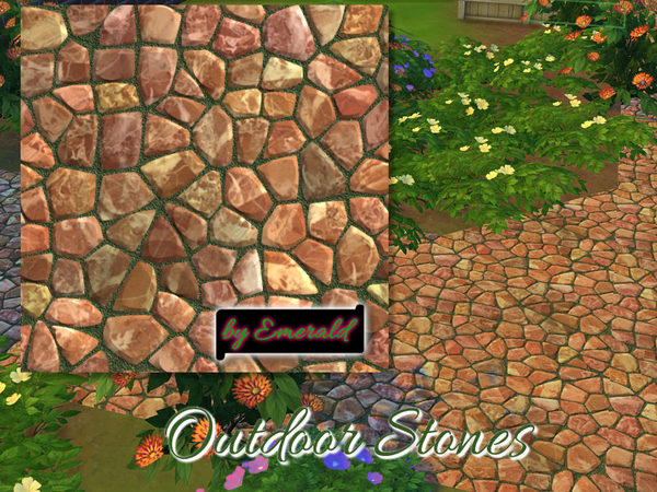 Outdoor Stones by emerald