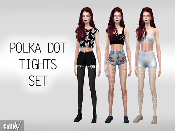 Polka Dot Tights Set by Callie V