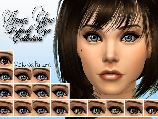 Victorias Fortune Inner Glow Default Eye Collection by fortunecookie1