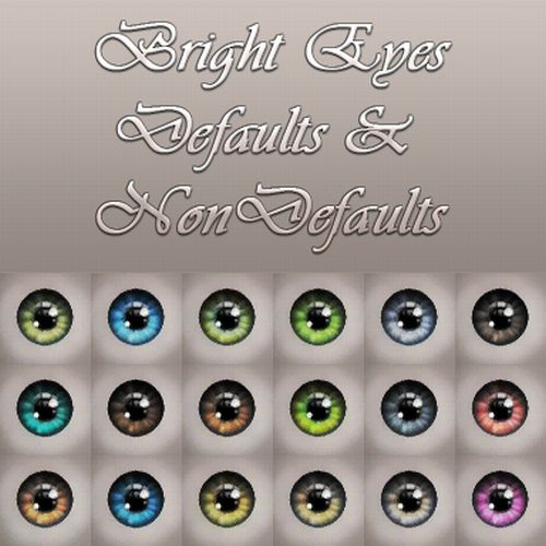 Bright Eyes Defaults & Non Defaults by Notegain