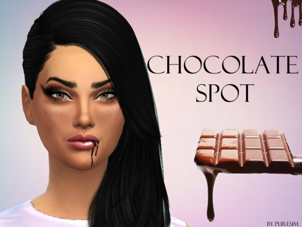 Chocolate Spot For Lips by Puresim