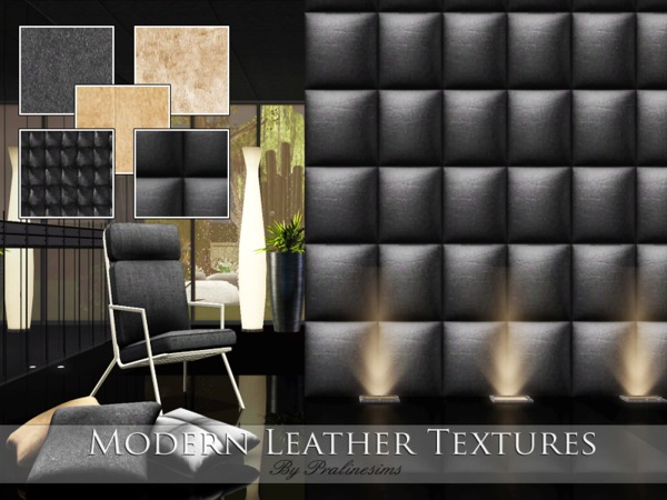Modern Leather Textures by Pralinesims