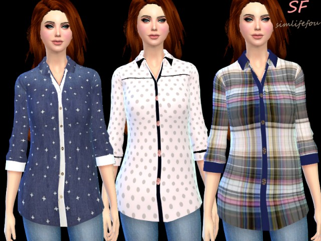 Fashionable shirt by Mysimlifefou