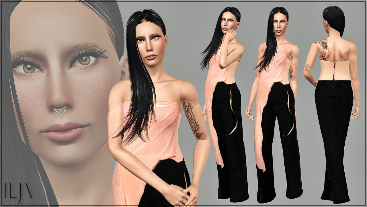 Haute Couture outfit by ART-Sims