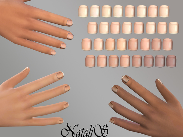 NataliS_TS4 Men's nails MT-ME