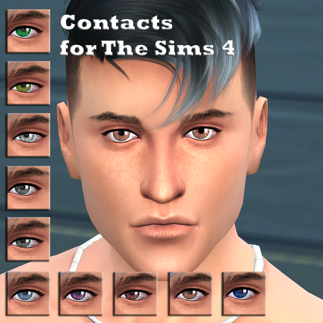Contacts for The Sims 4 by Ulito4ka