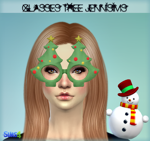 New Mesh Accessory Glasses Tree Christmas Male / Female by jennisims