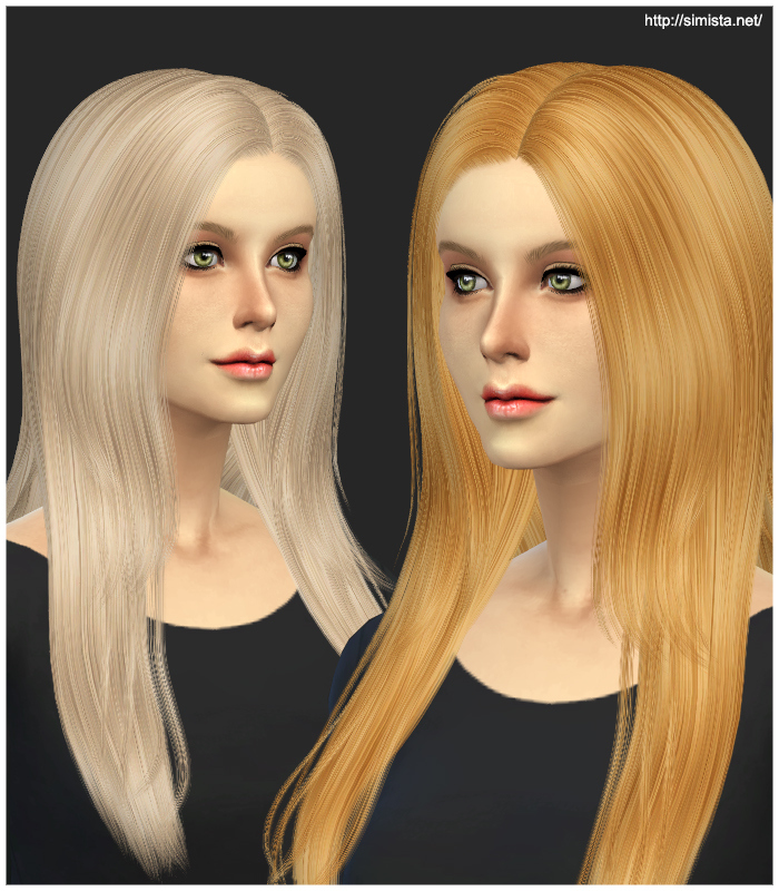 Cazy Over The Light Hair Retexture at Simista