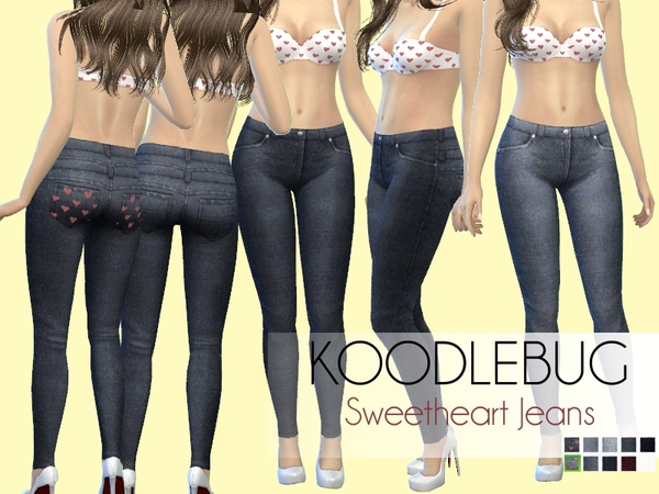 Sweetheart Jeans by koodlebug