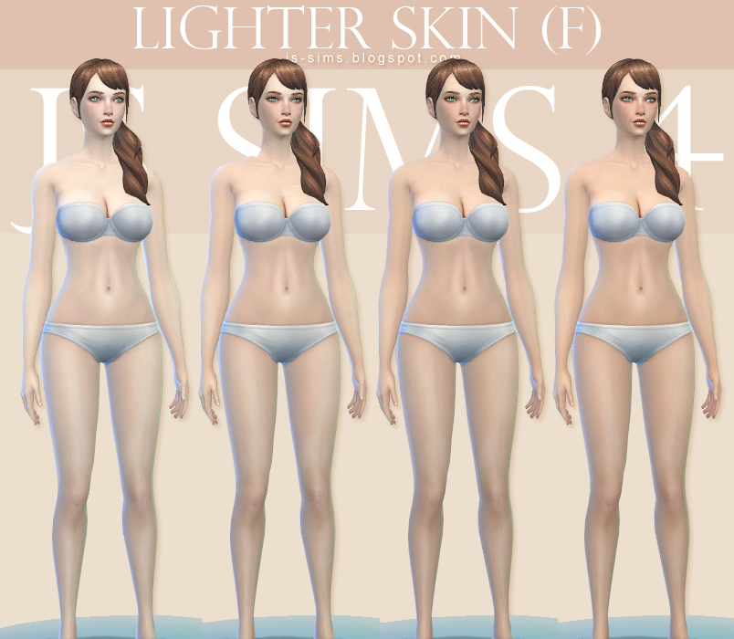 Lighter Skin (F) by JS SIMS