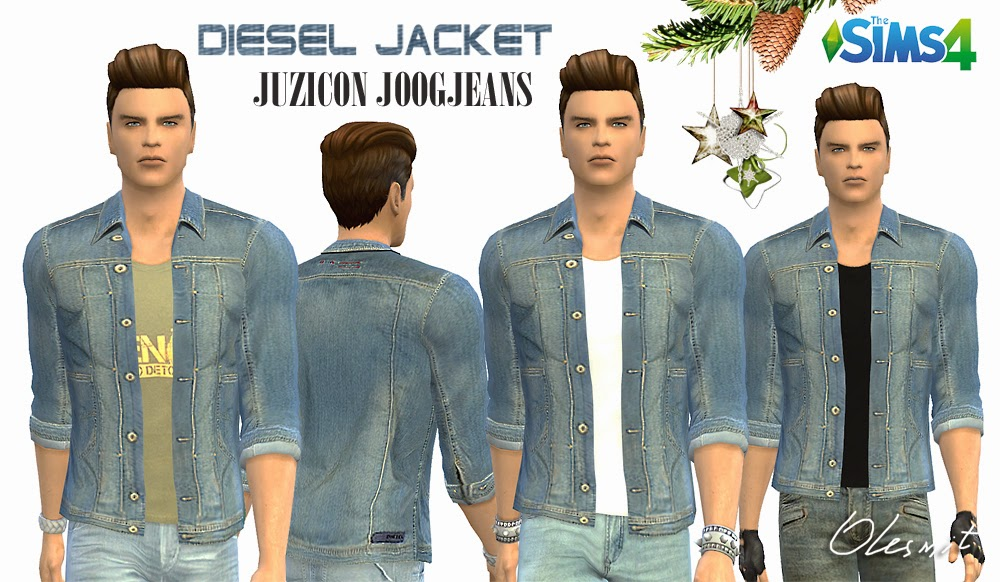 Mens denim jacket by Olesmit