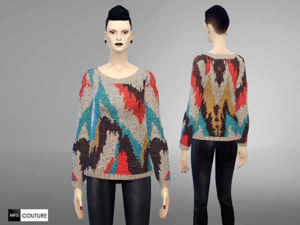 MFS ColorPop Sweater by MissFortune