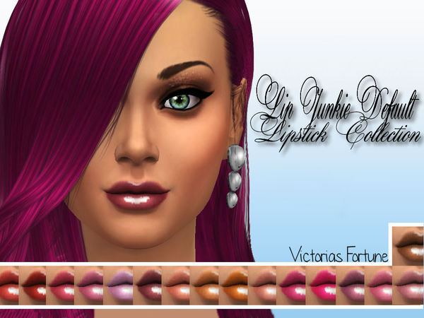 Victorias Fortune Lip Junkie Default Lipstick Collection by fortunecookie1