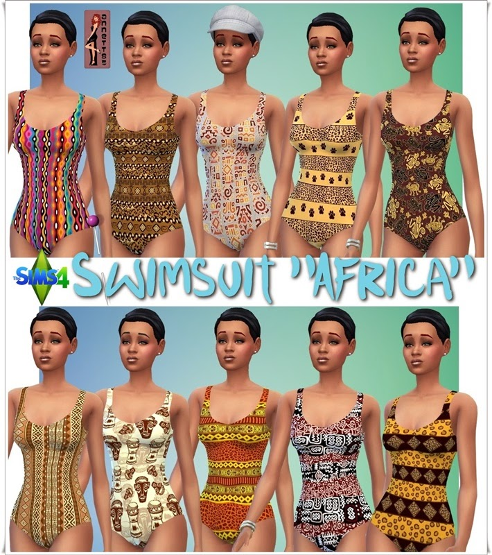 "Swimsuit ""Africa"" by Annett85"