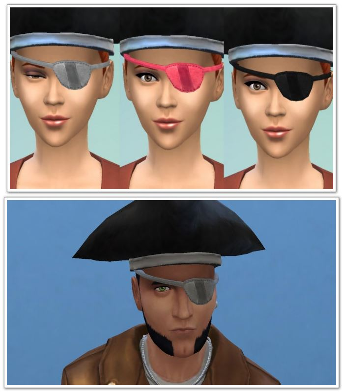 Pirate eyepatch conversion by necrodog