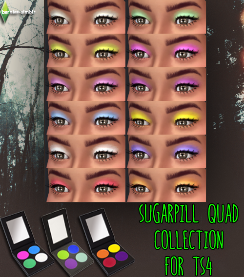 Sugarpill Quad Collection at Bernies Sims 4 Simblr