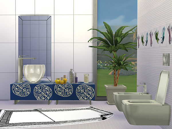 Bathroom Drop by Pilar