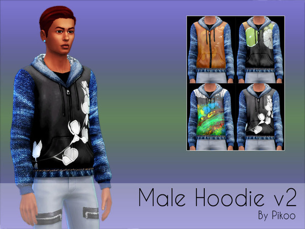 Male Hoodie v2 by pikoo