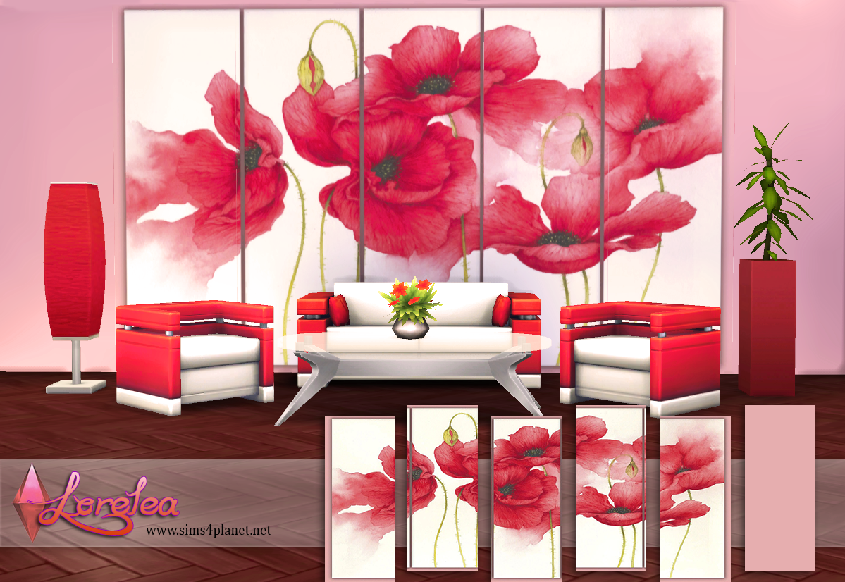 Red poppies wallpapers by lorelea