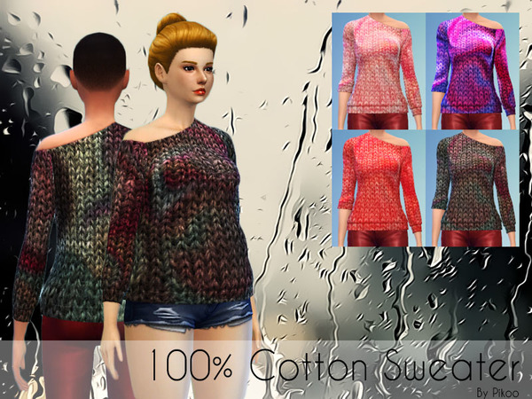 Cotton Sweater by pikoo