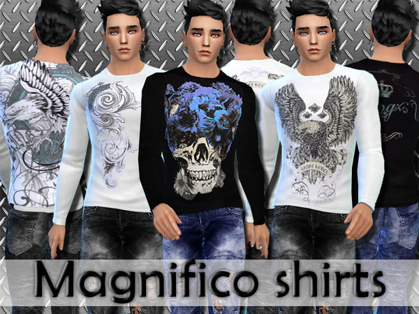 Longsleeves Magnifico shirts by Pinkzombiecupcakes
