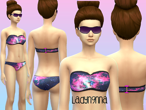 Galacy swimsuit set one by swaghard