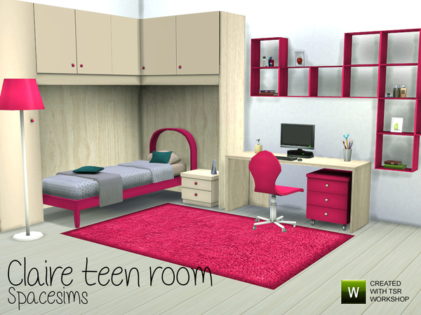 Claire teen room by spacesims