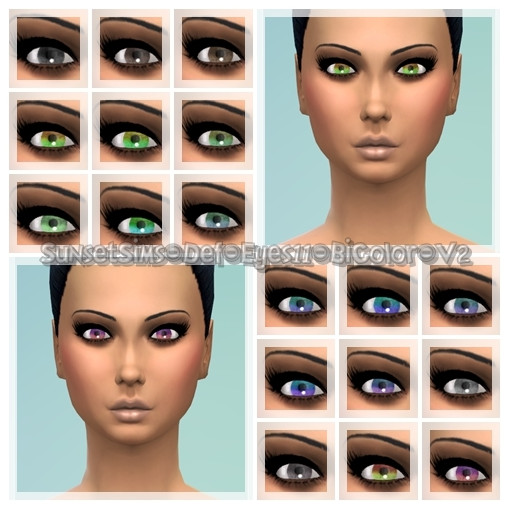 Def-Eyes11-BiColor-2Versions by SunsetSims