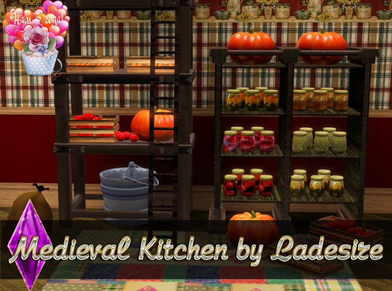 Medieval Kitchen by Ladesire