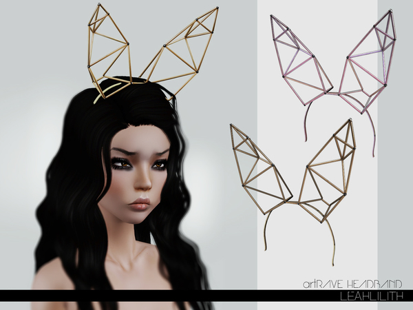 LeahLillith artRave Headband by Leah Lillith