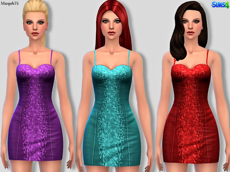 Sequin Dress Updated by Margie75