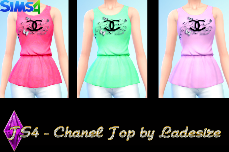 Chanel Top by Ladesire