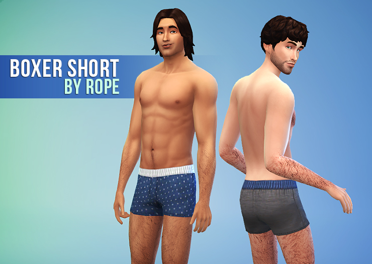 Boxer Shorts for Teen - Elder Males by Rope