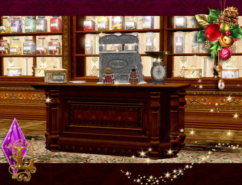 Christmas Candy Shop by Ladesire