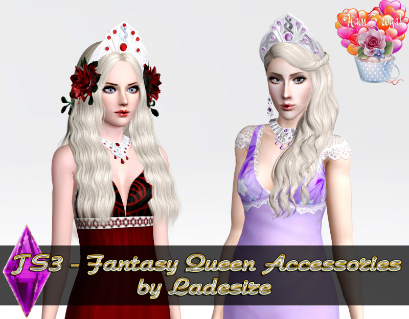 Fantasy Queen Accessories от Ladesire