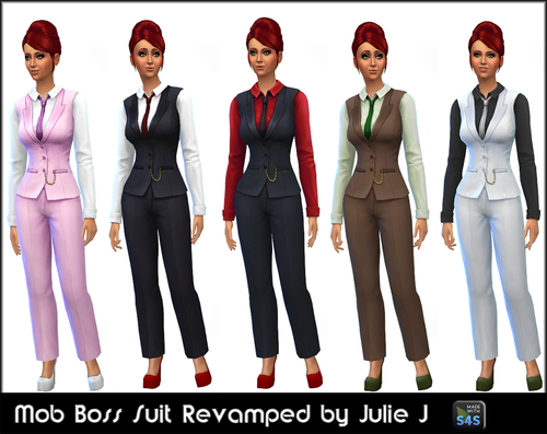 Mob Boss Suit Revamped by JulieJ