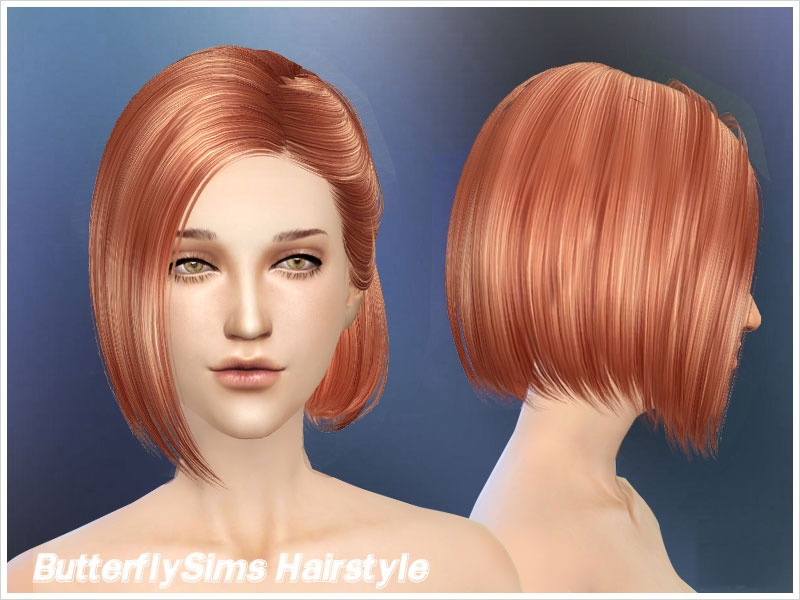 Hairstyle 100 by Butterfly Sims