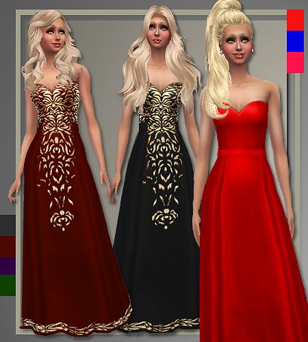 Holiday Gowns by Judie at All About Style