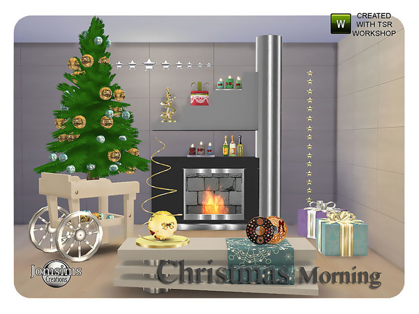 Christmas morning living by jomsims