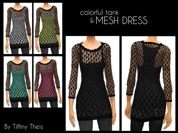 Mesh dress by tiffybee