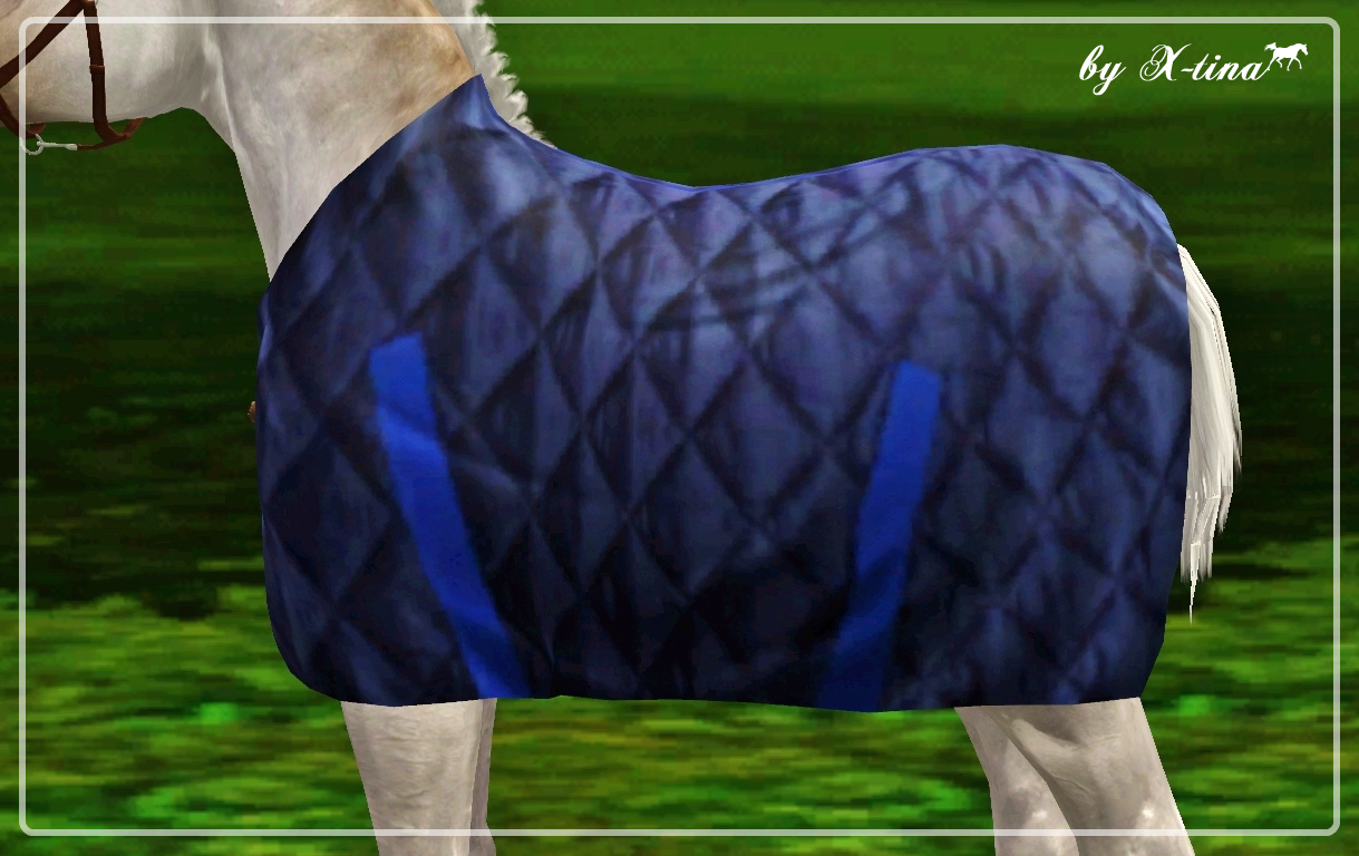 Quilted Foal Rug by X-tina
