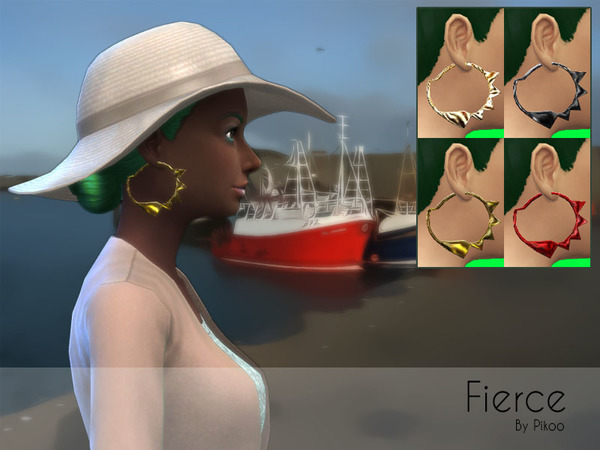 Fierce Earrings by pikoo
