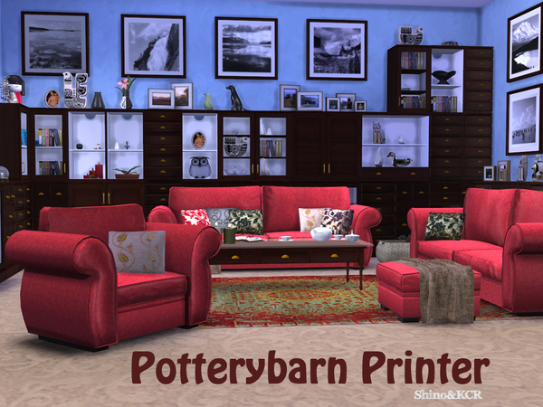 PB Printer Livingroom by ShinoKCR