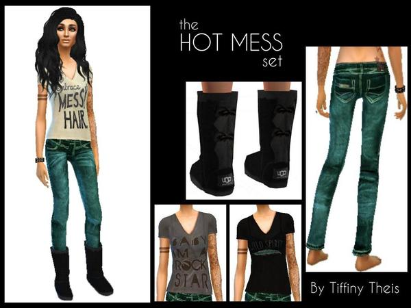 The Hot mess set by tiffybee