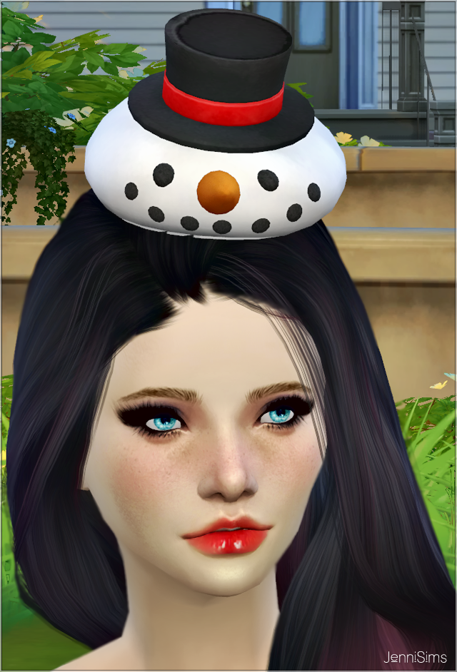SnowMan Hat Christmas at Jenni Sims
