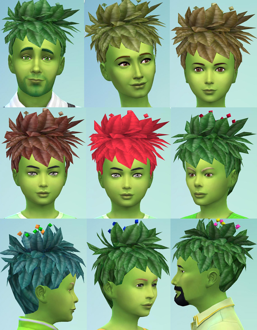 Plantsim Hair Conversion by Esmeralda