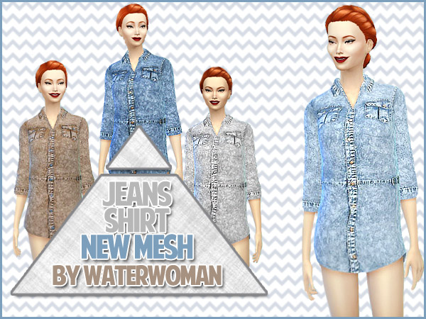Denim shirt by Waterwoman