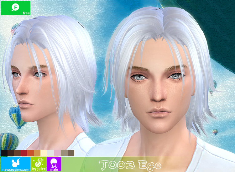 J003 Ego hair for males by Newsea